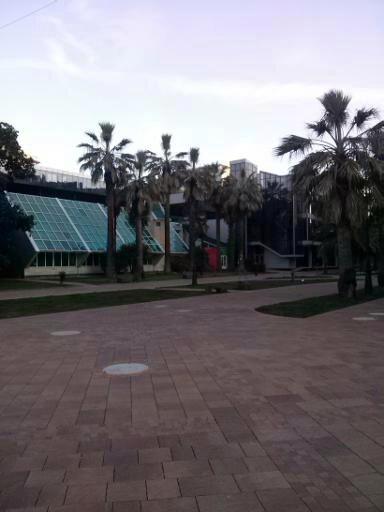 Площадь Флага. Вид от фонтана у здания Администрации.